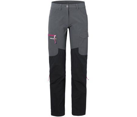 Didriksons Sabine Womens Pants – Softshellbukser Dame – Grå/Sort