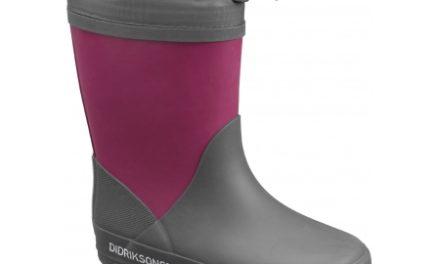 Didriksons Slush Kids W Boots – Gummistøvler med foer – Mørk Lilla