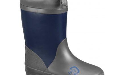 Didriksons Slush Kids W Boots – Gummistøvler med foer – Navy Blå