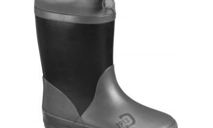 Didriksons Slush Kids W Boots – Gummistøvler med foer – Sort