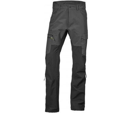 Didriksons Spencer Mens Pants – Softshellbukser Mand – Grå/Sort