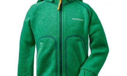Didriksons Strokken Kids Jacket – Fleecejakke Børn – Grøn