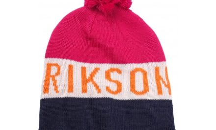 Didriksons Tomba Knitted Youth Beanie – Hue Junior – Pink – One Size