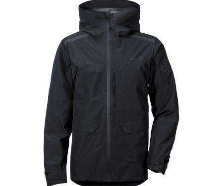 Didriksons Trent Mens Jacket – Vandtætjakke Mand – Sort