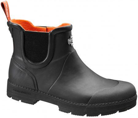 Didriksons Vinga Mens Rubber Boots – Gummistøvle Mand – Sort