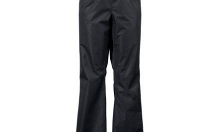 Didriksons Vivid Mens Pants – Regnbukser Mand – Sort