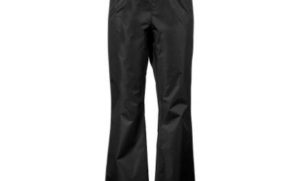 Didriksons Vivid Womens Pants – Regnbukser Dame – Sort