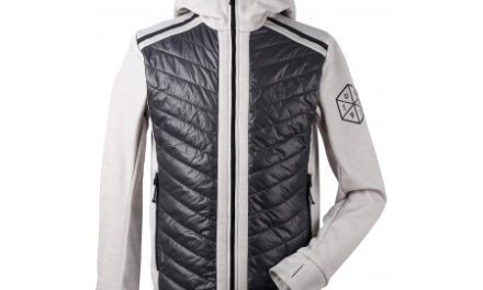 Didriksons Zuko Mens Jacket – Hybridjakke herre – Grå