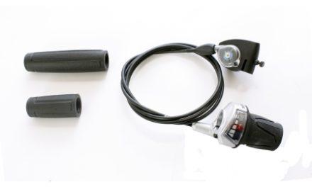 Drejegreb Sram P5 Gear m/ kabel, clickbox og håndtag