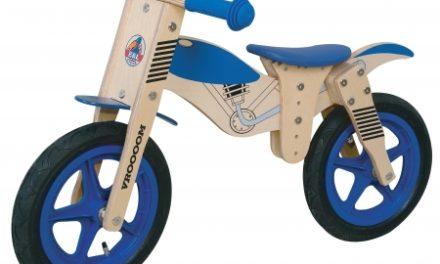"E & L Yipeeh – Løbecykel – Blå – 12"""