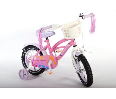 "E & L Yipeeh Springtime – Børnecykel – Pink – 12"""