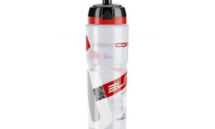Elite Corsa – Drikkeflaske 1000ml  – 100% Biologisk nedbrydelig – Klar/Rød