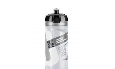 Elite Corsa – Drikkeflaske 550ml  – 100% Biologisk nedbrydelig – Klar/Sølv