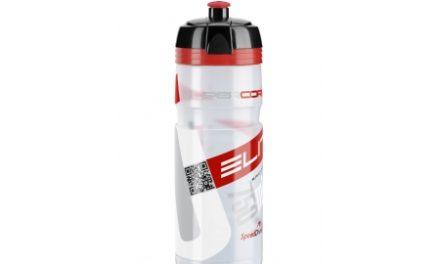 Elite Corsa – Drikkeflaske 750ml  – 100% Biologisk nedbrydelig – Klar/Rød