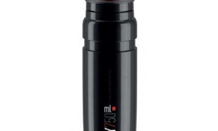 Elite Fly – Drikkeflaske 750ml  – 100% Biologisk nedbrydelig – Sort med rød logo