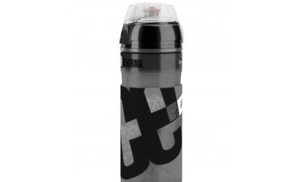Elite Iceberg – Drikkeflaske Thermo 550ml  – Klar med sort grafik
