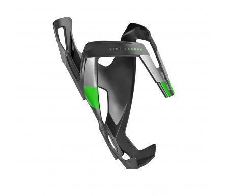 Elite Vico Carbon – Flaskeholder 23 gram – Matsort/Grøn