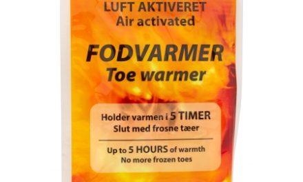 Engangs fodvarmere til at lægge i fodtøj