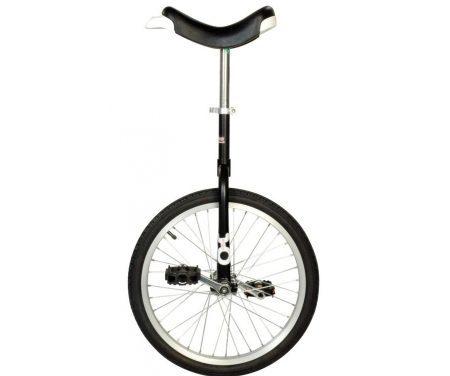 """Ethjulet cykel 20"""" hjul Sort"""