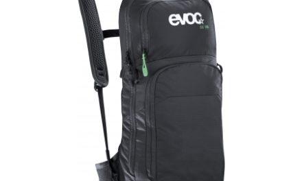 Evoc CC 10L – Letvægts dagsrygsæk med 2 liter blære – 10 liter – Sort