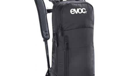 Evoc CC 6L – Letvægts dagsrygsæk med 2 liter blære – 6 liter – Sort