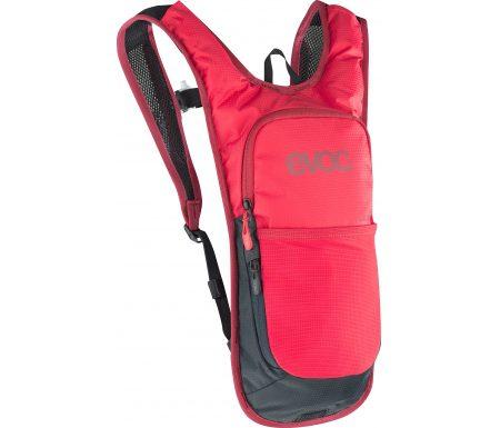 EVOC CC – Cykelrygsæk – 2L – Rød – inkl. vandreservoir