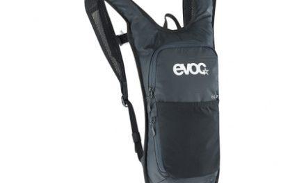 EVOC CC – Cykelrygsæk 2L – Sort – inkl. vandreservoir