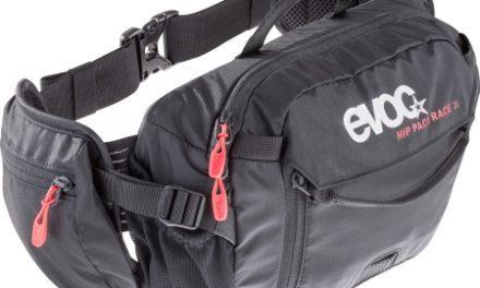Evoc Hip Pack Race – Hoftetaske – 3 liter – 1 1/2 liter blære – Sort