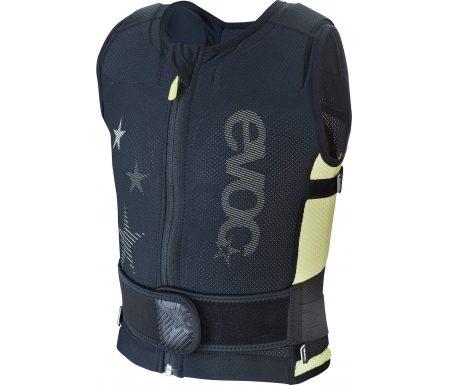 EVOC Protector Vest Kids – Rygskjold til MTB og ski – Junior – Sort/lime
