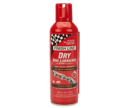 Finish Line – Dry Lube Teflon – Olie på spray – 244 ml –  Rød