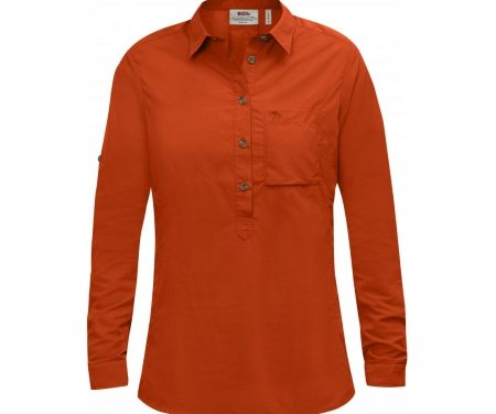 Fjällräven High Coast LS W – Skjorte – Orange – Str. M
