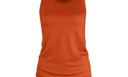 Fjällräven High Coast – Tank top – Orange – Str. XL