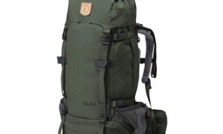 Fjällräven Kajka W – Dame vandrerygsæk – Mørkegrøn – 55L