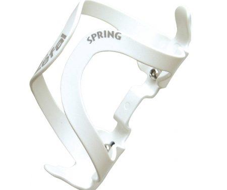 Flaskeholder Zefal Spring – Hvid plast