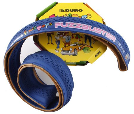 Foldedæk 700 x 24c Duro Fixie blå