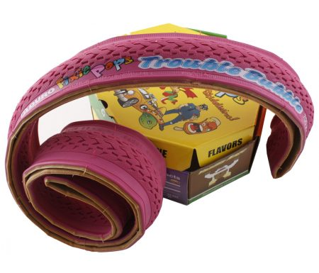 Foldedæk 700 x 24c Duro Fixie pink