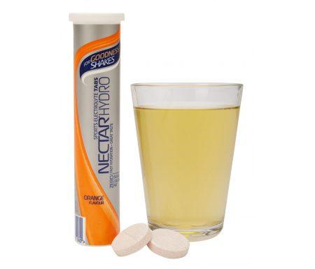 For Goodness Shakes Nectar Hydro – Elektrolyt tabs – 1×20 stk – Appelsin