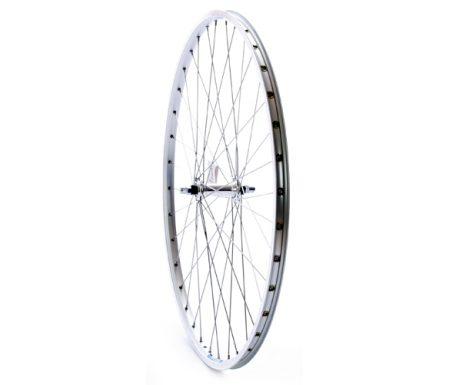 Forhjul 700c city ZAC19 sølv