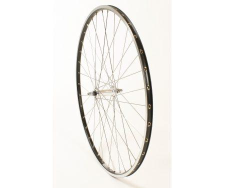 Forhjul med Ryde Chrina fælg – 700c – Sort.