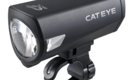 Forlygte Cateye 1 Rol LED Sort HL-EL540RC