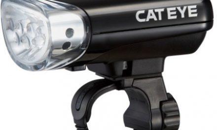 Forlygte Cateye Jido 5 dioder bevægelsessensor