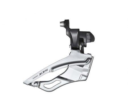 Forskifter Shimano 105 3 x 10 gear Sort til direkte montering