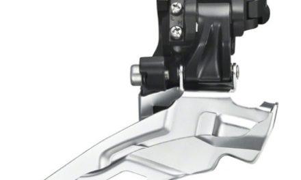 Forskifter Shimano Deore 3 x 10 gear til sadelrørs montering – Sølv
