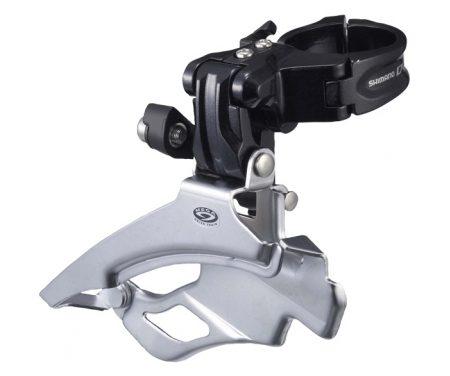 Forskifter Shimano Deore 3 x 9 gear til sadelrørs montering med klampe 31,8-34,9mm