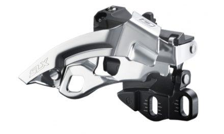 Forskifter Shimano SLX 3 x 10 gear til krankboks montering
