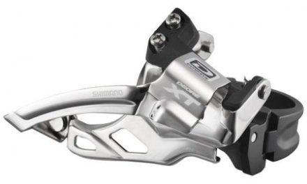 Forskifter Shimano XT 2 x 10 gear til sadelrørs montering