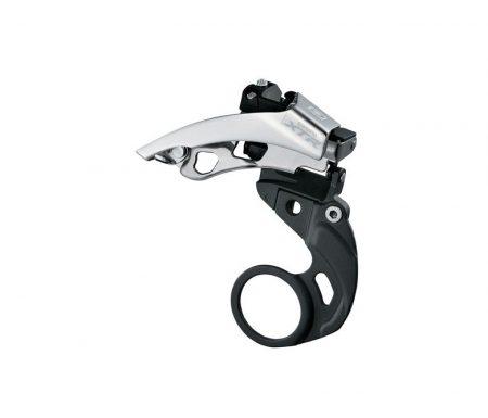 Forskifter Shimano XTR FD-M980-E 3 x 10 gear til krankboks montering