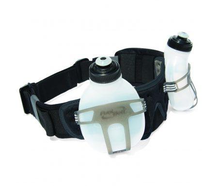 FuelBelt Revenge Bottle Belt til 2 flasker – Væskebælte til løb og træning inkl. 2 flasker