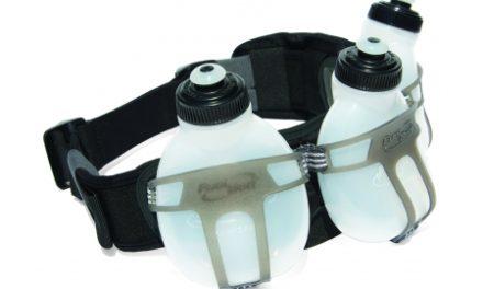 FuelBelt Revenge Bottle Belt til 3 flasker – Væskebælte til løb og træning inkl. 3 flasker