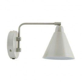 Game væglampe 20 cm fra House Doctor, Grå/hvid fra House Doctor